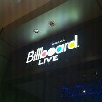 Photo taken at Billboard Live Osaka (ビルボードライブ大阪) by Got C. on 3/24/2012