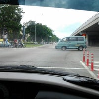 Photo taken at Melawati-Permata junction by Sophy Sufian S. on 3/11/2012