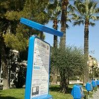 Photo taken at Vélo Bleu (Station No. 26) by Iarla B. on 3/29/2012