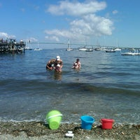 Photo taken at Green's Pier by joan b. on 8/26/2012