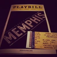 Photo taken at Memphis - the Musical by Ayesha on 7/19/2012