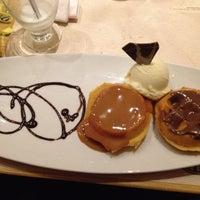 Photo taken at Crepes & Waffles by Tatiana V. on 7/1/2012
