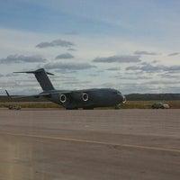 Photo taken at Inuvik Airport (YEV) by Jim J. on 8/29/2012