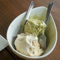 Photo taken at Salted Caramel Artisan Ice Cream by Tri M. on 4/11/2012