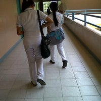 Photo taken at Andres Bonifacio College by Rh M. on 8/9/2012
