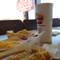 Photo taken at Chico's Tacos by Pe A. on 6/23/2012