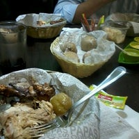 Photo taken at Stav - Pollo Horneado by Liss A. on 6/4/2012
