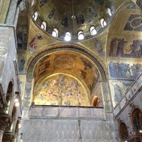 Photo taken at St Mark's Basilica by Julia D. on 3/31/2012
