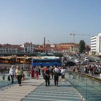 Photo taken at Piazzale Roma by Visit Venezia on 3/14/2012