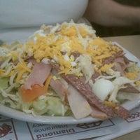 Photo taken at La La's Diner by Tara P. on 4/7/2012