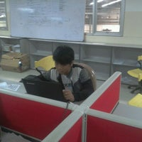 Photo taken at PT. Adyawinsa Telecommunication & Electrical by Putra S. on 6/9/2012