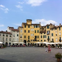 Photo taken at Piazza dell'Anfiteatro by Sergi on 7/24/2012