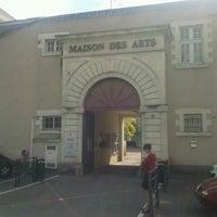 Photo taken at Maison des Arts by Fernando P. on 8/29/2012