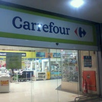Photo taken at Carrefour by Juliane T. on 8/25/2012