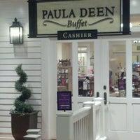 Photo taken at Paula Deen Buffet Harrah's Tunica by Tesika P. on 6/17/2012