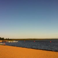 Photo taken at Пляж «Северный» by Zhanna K. on 8/14/2012