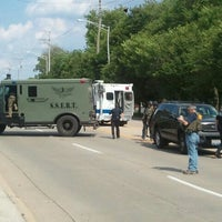 Photo taken at On Bank Robber Lockdown by Elanie Mae on 6/2/2012