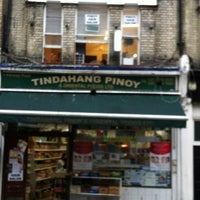 Photo taken at Earls Court Filipino Stores by Evangeline A. on 6/3/2012