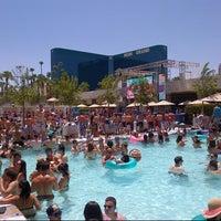 Photo taken at Wet Republic Ultra Pool by Vegas G. on 7/7/2012