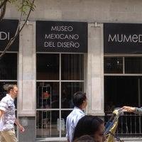 Foto tomada en Museo Mexicano Del Diseño (MUMEDI) por Jose S. el 8/30/2012