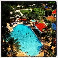 Photo taken at Renaissance Orlando at SeaWorld® by Kirby F. on 6/28/2012