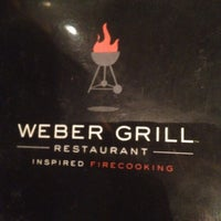 Photo taken at Weber Grill Restaurant by MJ W. on 5/8/2012