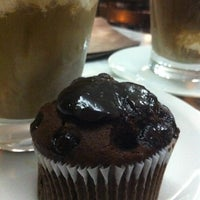 Photo taken at Fran's Café by Ellen O. on 5/12/2012