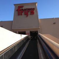Photo taken at Fry's Electronics by Mike G. on 9/1/2012