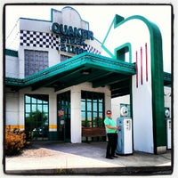 Photo taken at Quaker Steak & Lube® by Stephanie W. on 7/15/2012