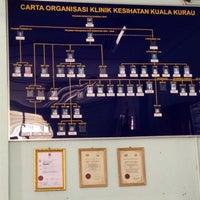 Photo taken at Klinik kesihatan kuala kurau by Khairil A. on 7/31/2012