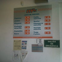 Photo taken at Tintoreria Max Echegaray by Jorge M. on 6/9/2012