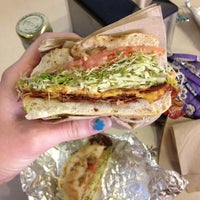 Photo taken at Chicago Bagel Authority by Lauren L. on 5/17/2012