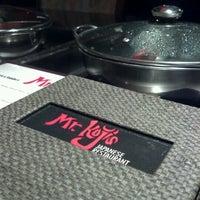 Photo taken at Koji's Sushi & Shabu Shabu by Mabes T. on 7/17/2012