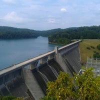Photo taken at Norris Dam State Park by Brittney G. on 6/16/2012