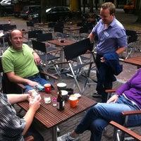 Photo taken at Hofman Café by Iris W. on 7/10/2012
