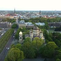 Photo taken at Radisson Blu Latvija Conference & SPA Hotel by Ivan J. on 5/9/2012