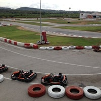 Photo taken at Karting Club Vendrell by Joanna on 7/5/2012