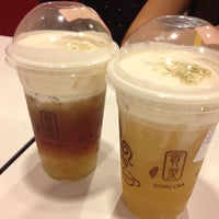 Photo taken at Gong Cha 貢茶 by Sim A. on 8/2/2012