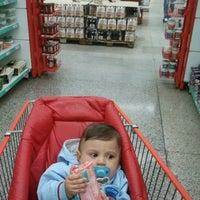 Photo taken at D'avó Supermercados by Edvaldo F. on 4/22/2012