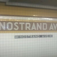 Photo taken at MTA Bus - B44/B44 +SBS - Nostrand Ave & Fulton St by Nikki on 6/14/2012