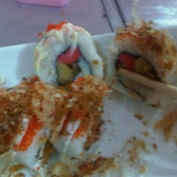 Photo taken at Sushi Kakilima by Thanty W. on 6/8/2012