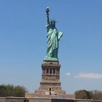Photo taken at Statue of Liberty Ferry by Jeanet C. on 5/19/2012