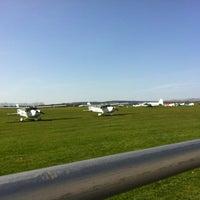 Photo taken at Aero Club Cafe by Ben M. on 4/1/2012