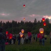 Photo taken at RSU Taurenes Sporta un Atpūtas Bāze by Dāvis S. on 5/26/2012