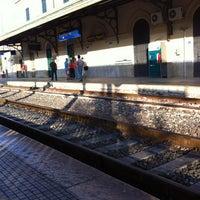 Photo taken at Stazione FS Bagheria by lui C. on 7/13/2012