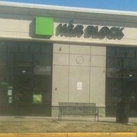 Photo taken at H&R Block by J R G. on 3/21/2012