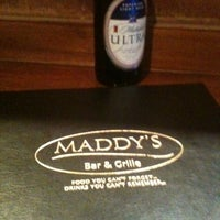 Photo taken at Maddy's Bar and Grille by Denise P. on 3/1/2012