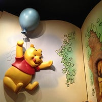 Photo taken at The Many Adventures of Winnie the Pooh by Andy M. on 5/7/2012