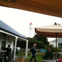 Photo taken at Lighthouse Stables and Cafe by Adam F. on 3/10/2012