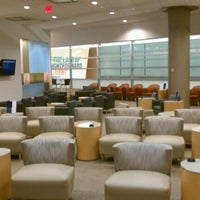 Photo taken at Delta Sky Club by Jason S. on 9/2/2012